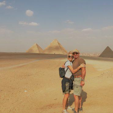 La foto con le Piramidi è per sempre
